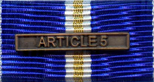 656 - NATO-Einsatzmedaille Eagle Assist-Article 5