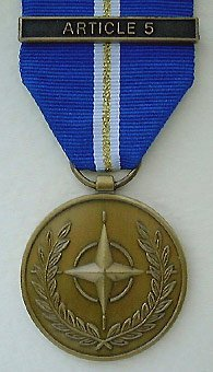 656-3 - NATO-Einsatzmedaille Eagle Assist-Article 5 (Medaille)