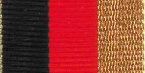 Ordensspange BW Leistungsabzeichen gold//schwarz