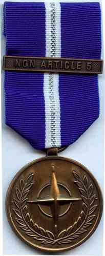654-3 - NATO - No Article 5 Medal