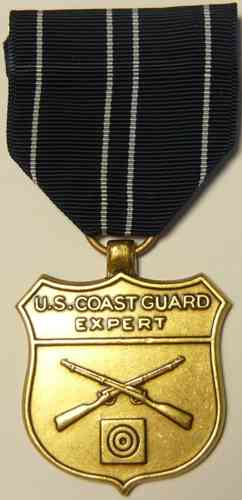 662-3 - US-Coast Guard - Expert Rifle (full size Medal)