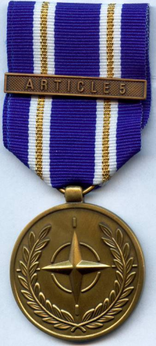 718-3 - NATO-Service medal Active Endeavour Article 5