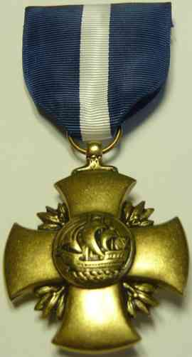 734-3 - US Navy Cross - Full Size Medal