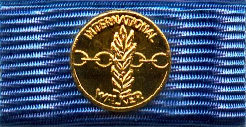 743-go - European Walker Medal - Gold