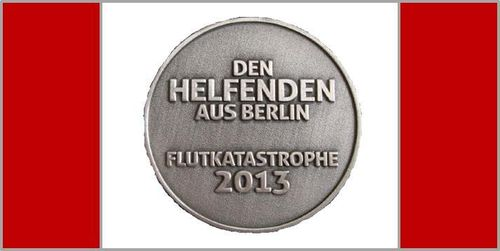 721 - Medal of Honor - Flood Disaster 2013 - State of Berlin