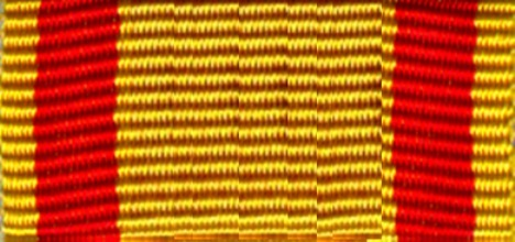 417-BS - ribbon red - yellow