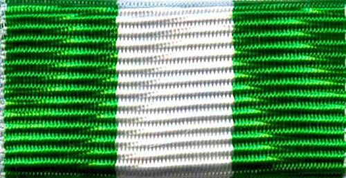 731-gwg - Ribbon bar green-white-green